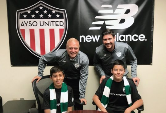 AYSO UNITED PLAYERS INVITED TO PARTICIPATE IN CELTIC FC ELITE PLAYER CAMP