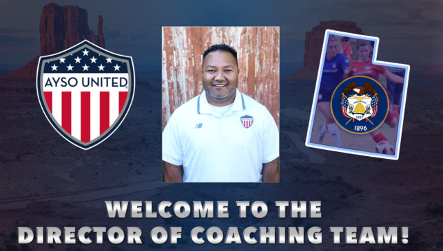 AYSO United Welcomes Joshua Hunt to Director of Coaching Team