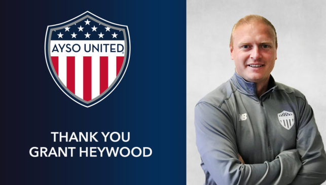AYSO United National Director of Coaching, Grant Heywood assumes role with LA Galaxy Development Academy