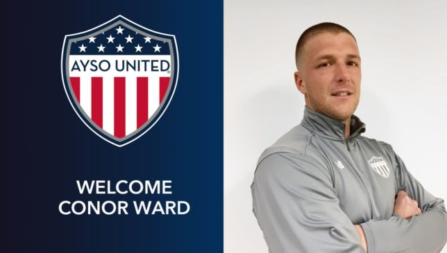 AYSO United Welcomes New Director of Coaching Conor Ward to the Team