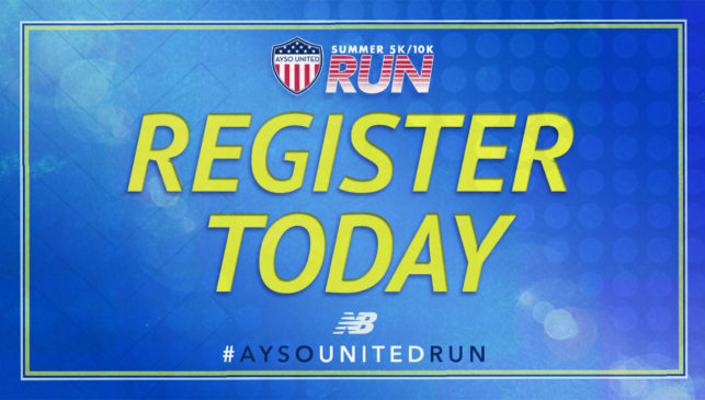 AYSO United Announces the 2020 Summer Run